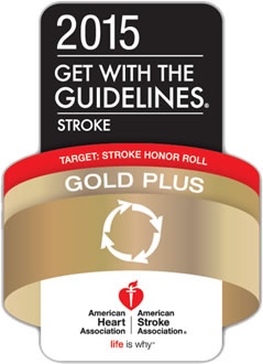 Get With The Guidelines-Stroke Gold Plus Quality Achievement Award