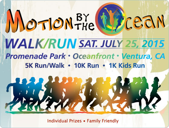 Motion by the Ocean - Walk/Run - Satuday, July 25, 2015