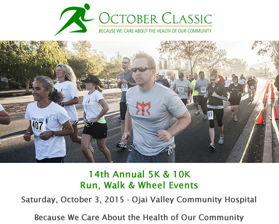 October Classic - Run, Walk & Wheel Events