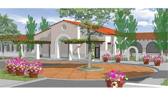 Ground Breaking<br /> Ceremony for the New<br /> Continuing Care Center<br /> in the Ojai Valley