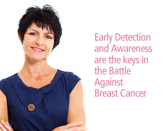 OCTOBER IS BREAST CANCER AWARENESS MONTH. Early Detection<br />