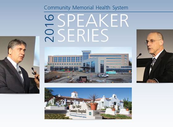 2014 SPEAKER SERIES - STATE OF THE HEALTH SYSTEM