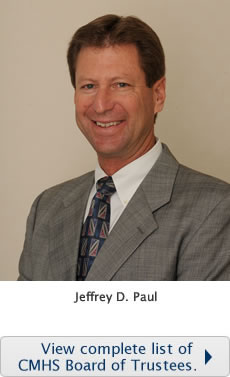 New Board Member, Jeff Paul