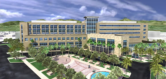 Community Memorial Health System building a new hospital