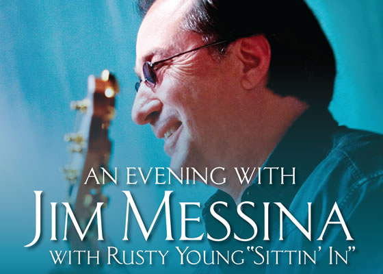 "An evening with Jim Messina with Rusty Young ""Sittin' In"""