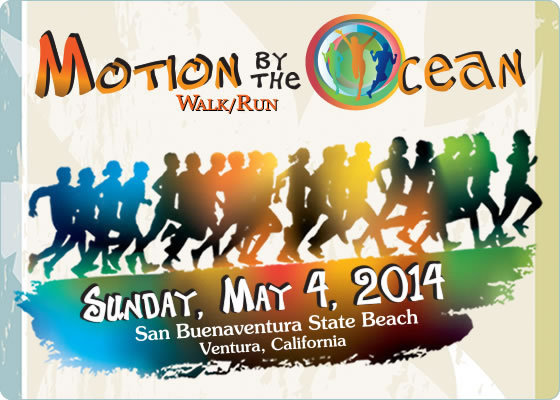 Motion by the Ocean - Walk/Run - sunday May 4th, 2014