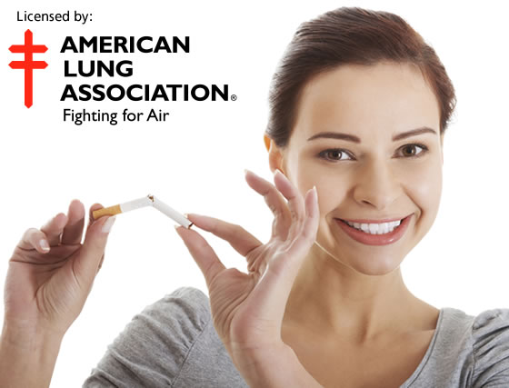 Licensed by the American Lung Association
